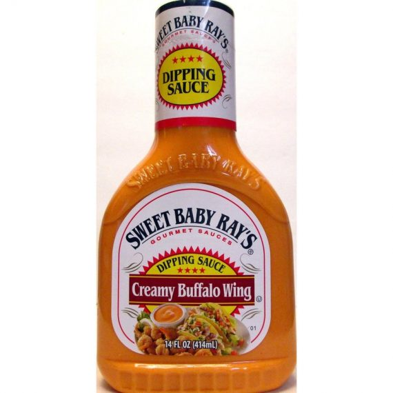 Sweet Baby Ray's Creamy Buffalo Wing Dipping Sauce (Pack of 2) 14 oz Bottles