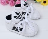 Leather Newborn baby Sports Walking Shoes Soft Toddler Shoes 0956