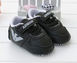 Black Baby Soft Bottom Toddler Shoes Boys Leather Walking Shoes A180