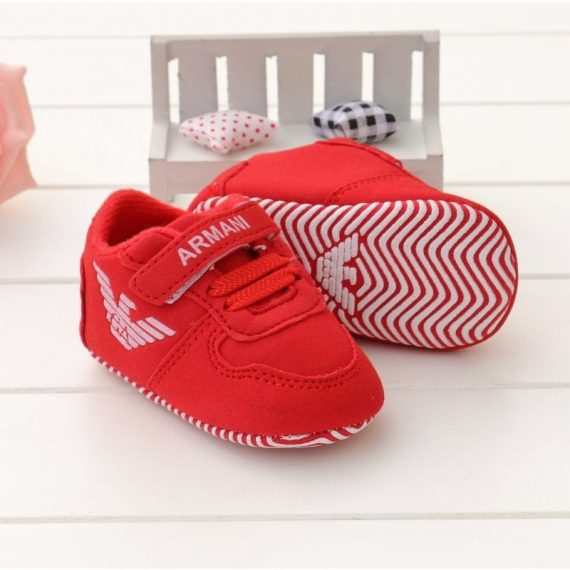 New Baby Red Walking Shoes Soft Bottom Walking Shoes  A180