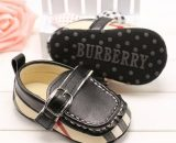 Black Toddler Shoes 0-24M Baby Walking Shoes Leather Toddler Shoes B165