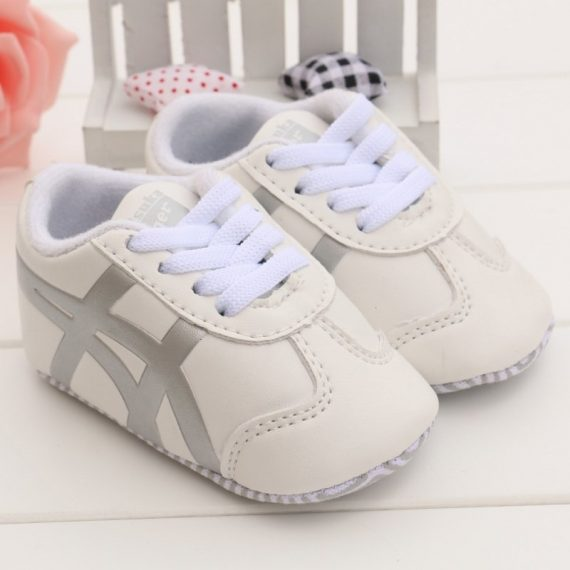 Hot Fashion White Baby Toddler Shoes Soft Leather Walking Shoes T181
