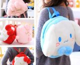 New 26CM cartoon plush toy my Melody plush bag backpack for baby kids girls Bags